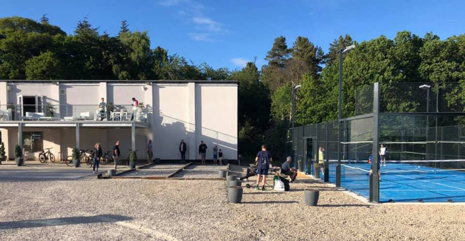 New Padel Tech court in play