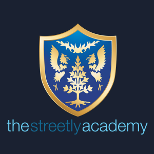 The Streetly Academy's club badge