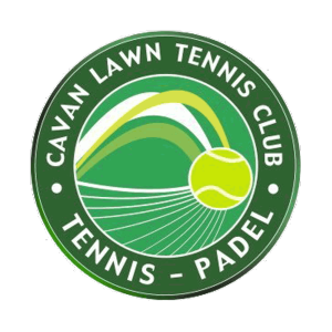 Cavan Lawn Tennis & Padel Club's club badge